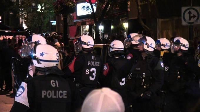 Violence police